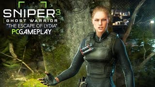 Sniper: Ghost Warrior 3 - The Escape of Lydia DLC Gameplay (PC HD)