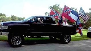 Confederate Flag Demonstrators Terrorize Girls Birthday Party