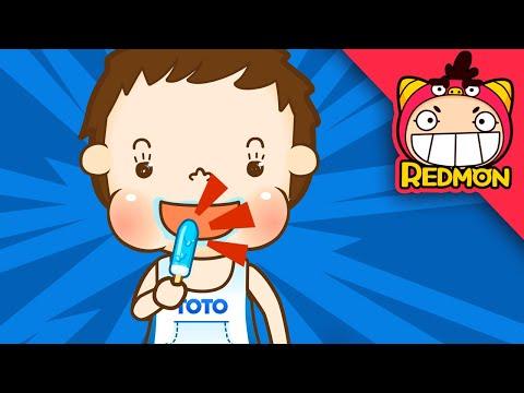 Thomas's daily life #10 Having a stomachache |Nursery Rhymes| [REDMON]