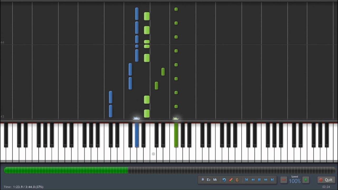 Strobe deadmau5 | piano tutorial youtube.