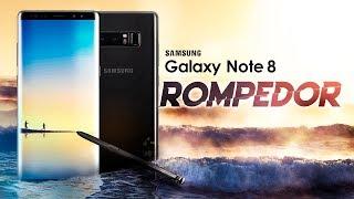 Samsung Galaxy Note 8, unboxing en español