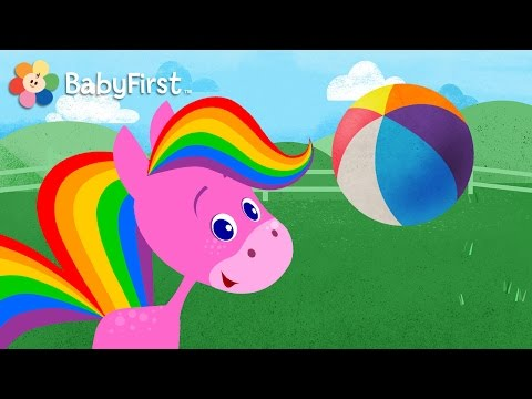 Best Apps For Kids   My Pet Rainbow Horse Game Demo   Pet, Play, Feed And More By BabyFirst