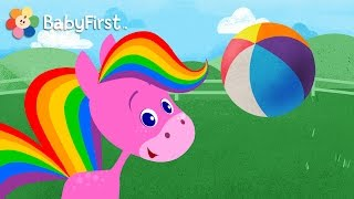 Best Apps for Kids | My Pet Rainbow Horse Game Demo | Pet, Play, Feed and More by BabyFirst