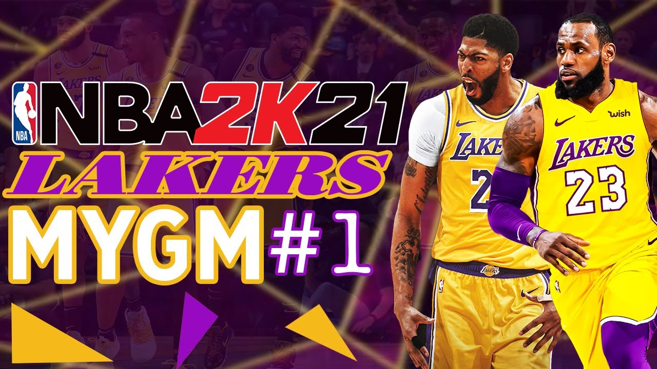 Download NBA 2K21 LA Lakers MyGM EP. #1 - Time To Build This Dynasty!