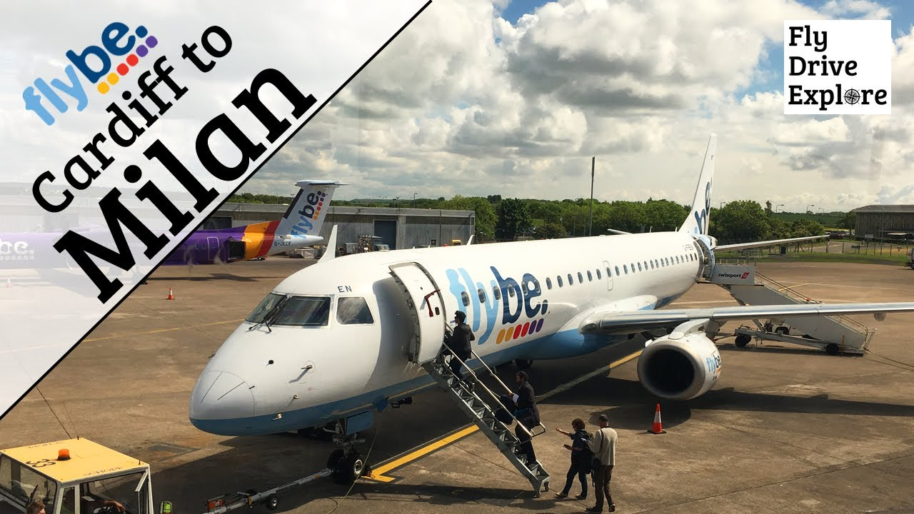 FlyBe Flight Review - Cardiff Airport to Milan, Malpensa, Italy