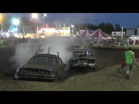 DuPage County Fair Demolition Derby Bonestock Night Feature