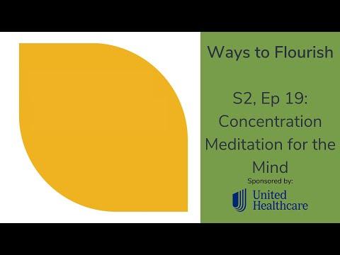 S2, Ep 19 - Concentration Meditation for the Mind