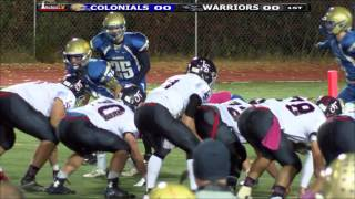 Colonials Football week 7 vs LS 10/23/15