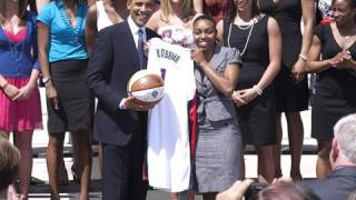 The President Honors the Huskies