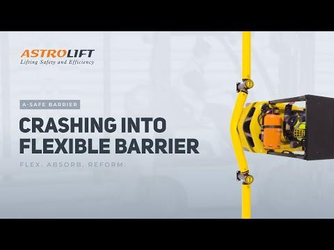 crashing-into-flexible-barrier