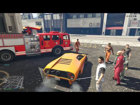 GTA 5 Captain Jack Sparrow Mod - Cướp biển vùng Caribbean