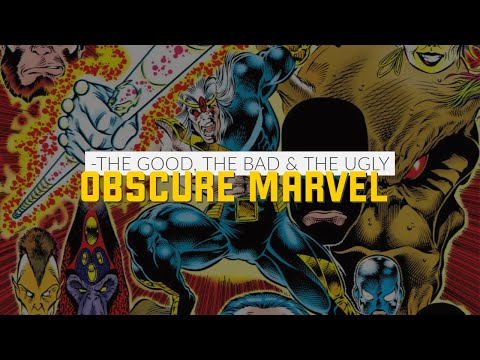 Obscure Marvel Comics Characters Special