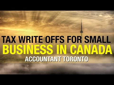 Tax Write offs for Small Business in Canada - Accountant Toronto