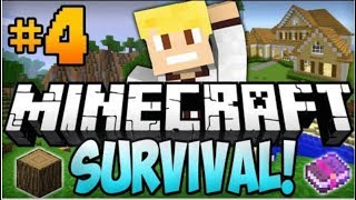 Minecraft Xbox: Survival Lets Play - Part 4 [XBOX 360 EDITION] House Tour