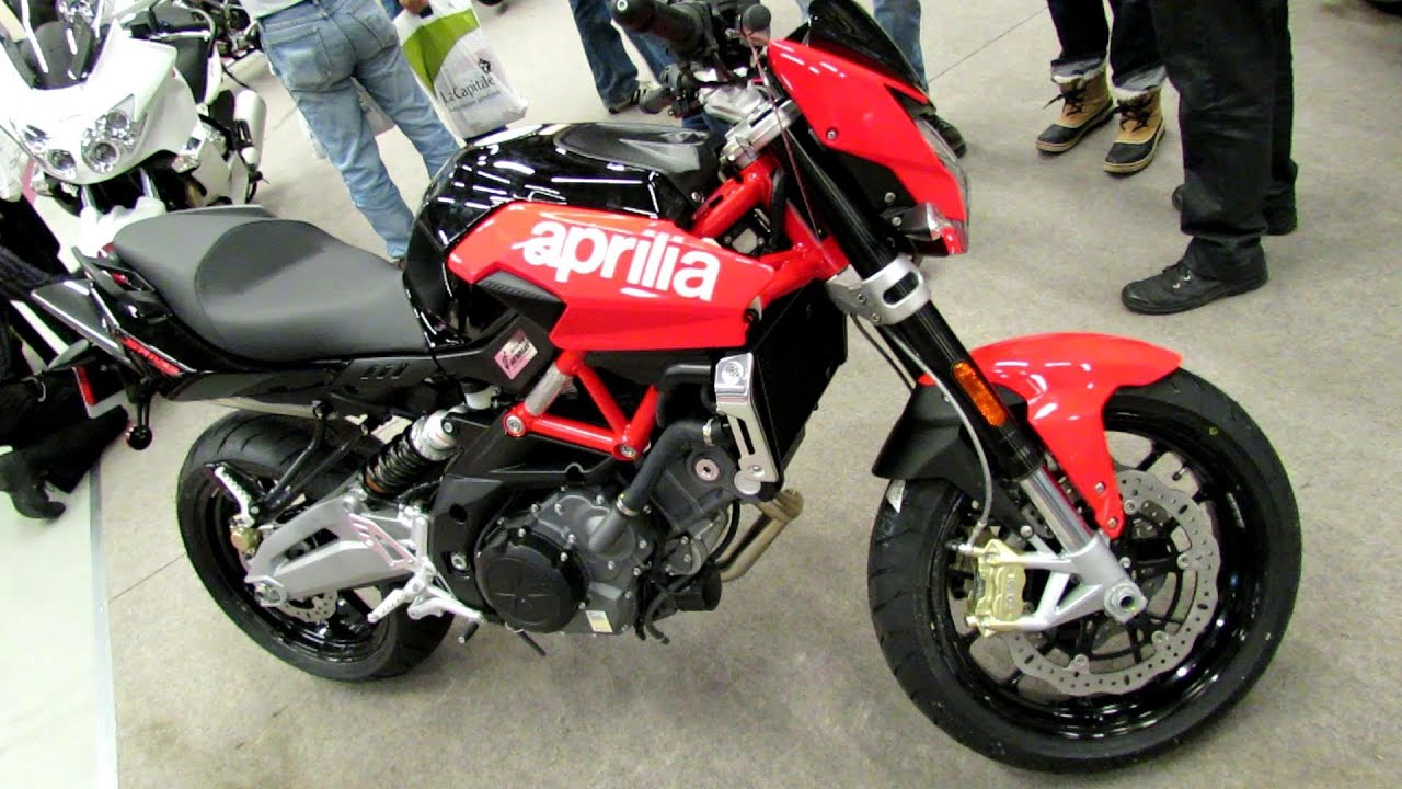 2012 aprilia shiver 750 walkaround 2013 montreal motorcycle show youtube. Black Bedroom Furniture Sets. Home Design Ideas