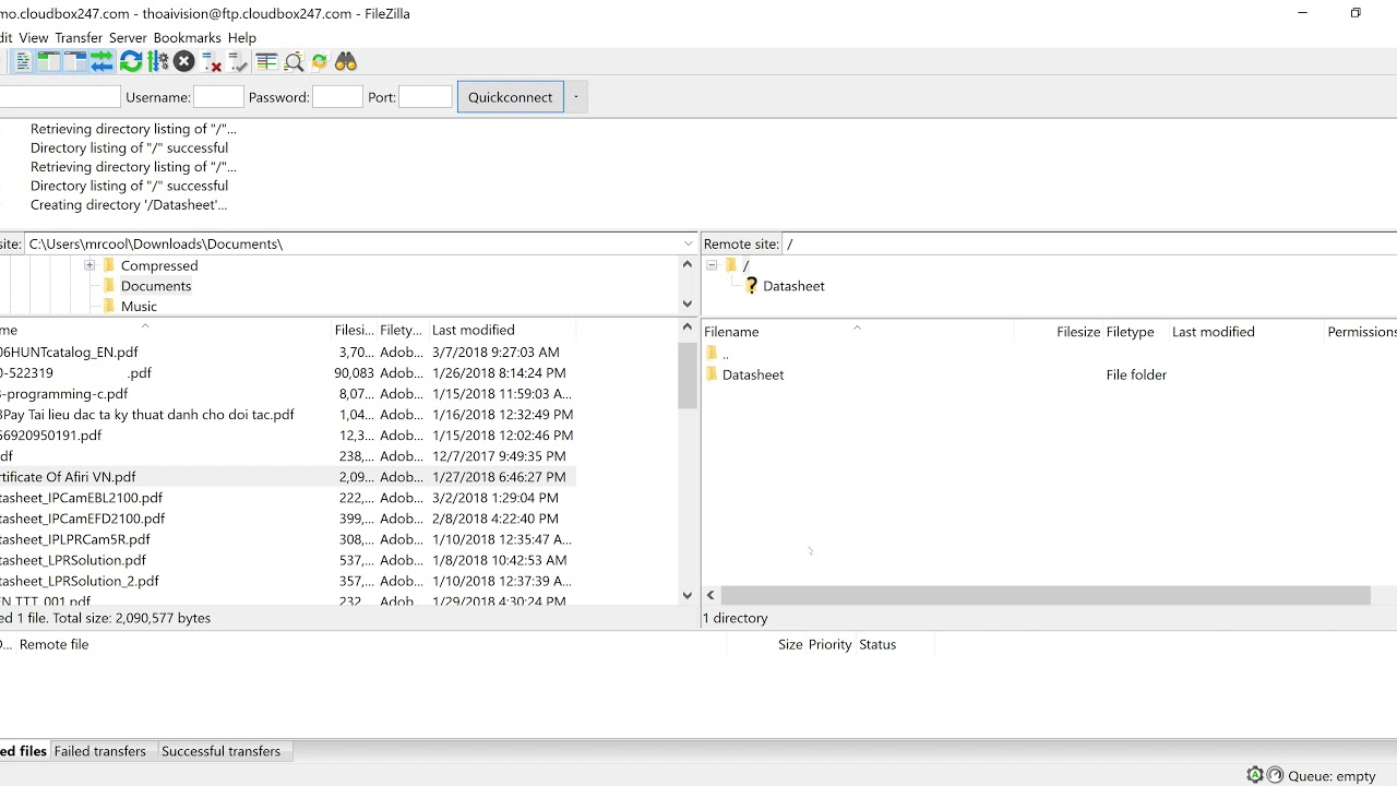Free Auto Backup Files to Google Drive via FTP
