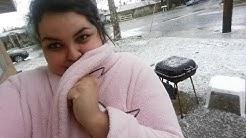 Snow in Hemet & San jacinto California!