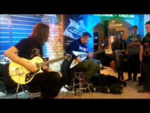 Drężmak i Litza w Music Store Poznań 3.12 pokazują jak zagrać