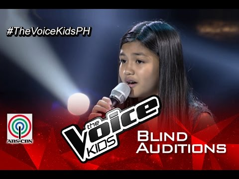 "The Voice Kids Philippines 2015 Blind Audition: ""Kilometro"" by Anika"
