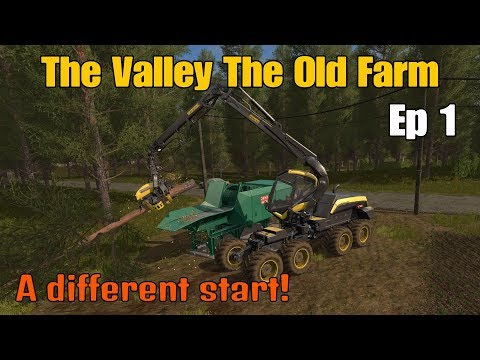 Let's Play Farming Simulator 17 PS4: The Valley The Old Farm, Ep 1 A Different Start!
