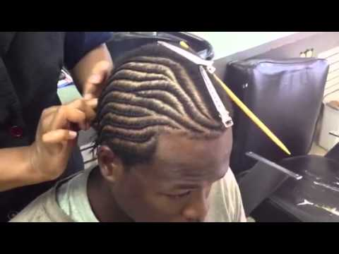 How To Braid Klean Kuts Barber Shop Ft Sherice Russell