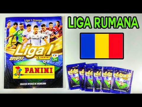 ¡CROMOS DE ROMANIA! - Album+6 packs Panini Liga 1 Orange