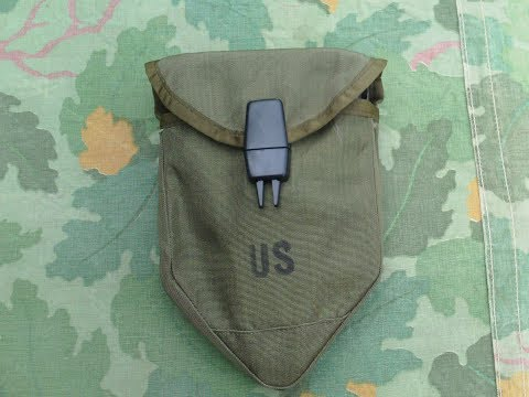 My review of the vietnam era M-1967 E-tool carrier/ cover