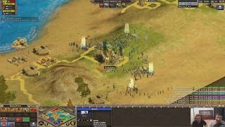 Rise of Nations 4v4 Nomad Clan Match: IND vs RA