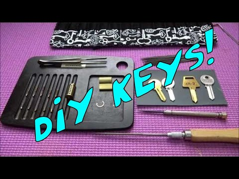 (360) Making Keys by Hand