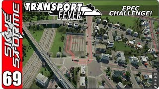 ►FOOD AND BRICKS TO 4 MORE TOWNS!◀ Transport Fever EPEC Challenge Ep 69