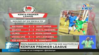 Kenya premier league game week 24 results