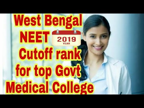 West Bengal NEET 2018 MBBS Cutoff rank & Counselling for top Govt