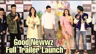 Good Newwz Trailer Launch | FULL EVENT | Akshay, Kareena, Kiara, Diljit