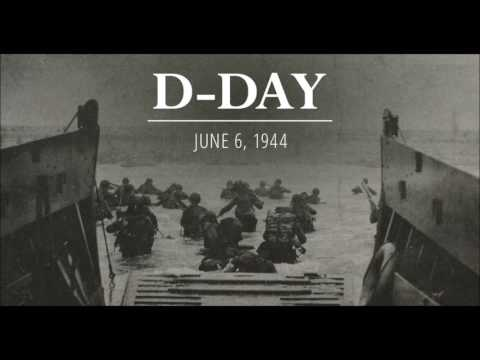 D-Day - First radio bulletin on NBC