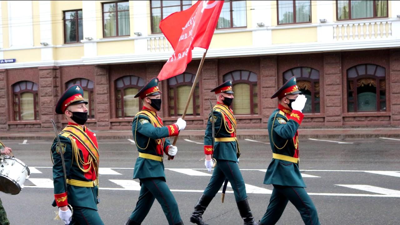 Парад Победы в Донецке 9 мая 2020 г.