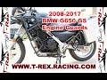 T rex Racing 2008 2017 Bmw G650gs Engine Guards Crash Bars