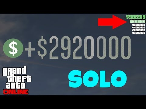 EVERYONE Can Do This NEW SOLO Gta 5 Online Money Glitch... (Unlimited Money Fast) *NO REQUIREMENTS*