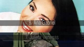 Mejores cantantes y grupos mexicanos