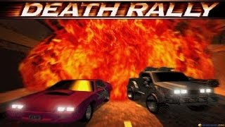 Death Rally gameplay (PC Game, 1996)