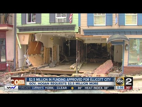 Board approves $2.5M for Ellicott City flood recovery aid