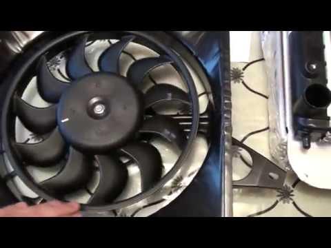 Радиатор и вентилятор охлаждения на Таврию часть 1
