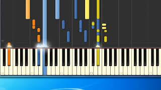 [Piano Tutorial Synthesia]Games without frontiers - Gabriel Peter