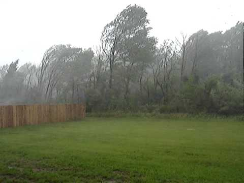 Inland Hurricane, Derecho, Marion, Illinois (1:47PM)