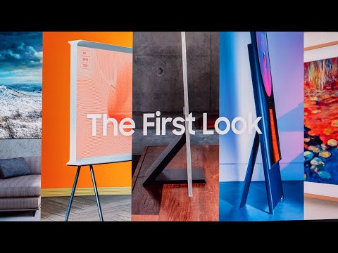 Samsung First Look Event @ CES 2020 (Micro LED TV, Q950TS 8K QLED, The Frame 2020, The Sero)