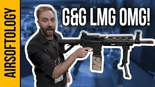 Polarstar's PROFESSIONAL HPA Series and a G&G Combat Machine LMG! | Airsoftology SHOT Show 2018