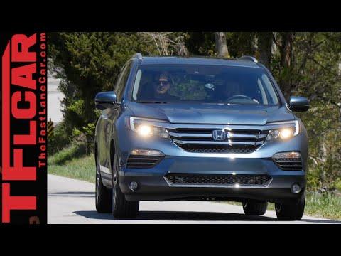 2016 Honda Pilot Sneak Peek Review: Driving outside of the Box