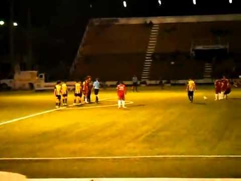 "1er Gol del Carabobo FC vs Dvo. Táchira ""B"" (John Ramirez Pombo)"