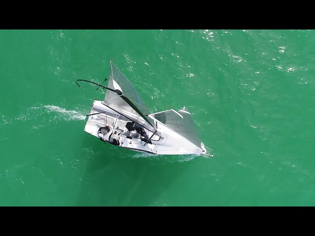 Melges 24 Set and Douse