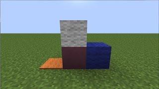Как сделать в Minecraft:Шерсть,ковры,обожжённую глину,стекло и стеклянные панели.