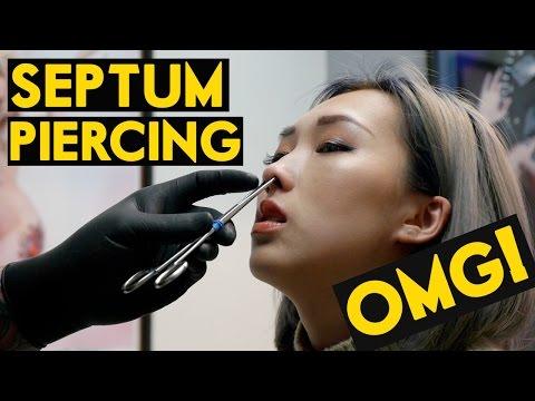 OMG! Septum Piercing | DOES IT HURT?!?